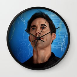 Harrison Wells (The Flash) Wall Clock