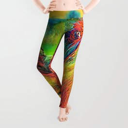 AnimalColor_OrangUtan_013_by_JAMColors Leggings