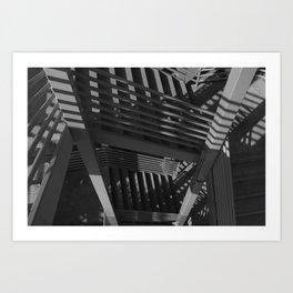 Layer upon layer upon layer  Art Print