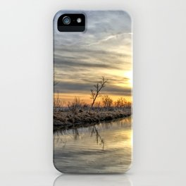 Along The River Bank 3 iPhone Case