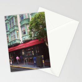 Cafe Zoetrope - City of San Francisco Stationery Cards