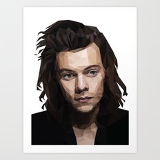 Harry Styles - One Direction Art Print