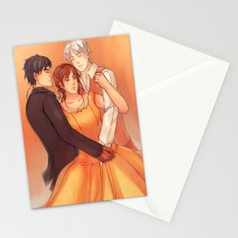 For love is stronger than death Stationery Cards