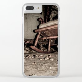 In the Basement Clear iPhone Case