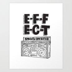 Smooth operator Art Print
