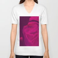 contemporary V-neck T-shirts featuring #Contemporary  by alaskadarling