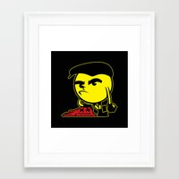 pac man Framed Art Prints featuring Pac-Man by La Manette