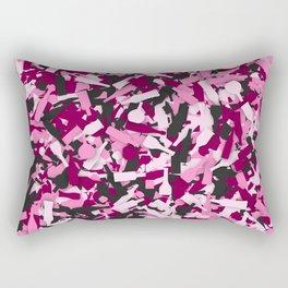 Pink alcohol camouflage Rectangular Pillow