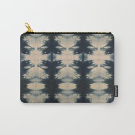 Winged Shibori Carry-All Pouch