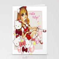 rupaul Stationery Cards featuring Hello Katya by tomatosita