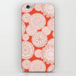 Delightful Doilies - Saffron iPhone Skin