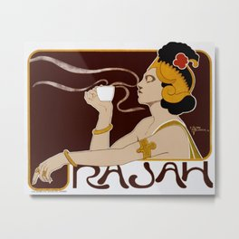 Henri Meunier - Rajah Coffee Metal Print