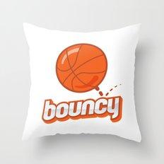 Bouncy Throw Pillow