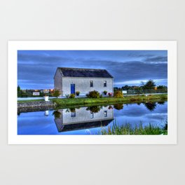 Ticket House on The Royal Canal Art Print
