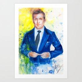 Suit Up  Art Print