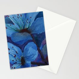Ice Bloom Stationery Cards