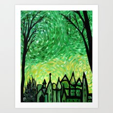 Emerald City Art Print