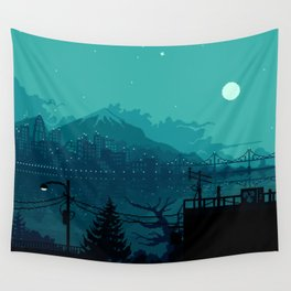 Dark Harbor Wall Tapestry