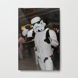 D*Con: Stormtrooper Metal Print