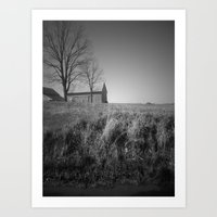 indiana Art Prints featuring indiana by Britannie Bond