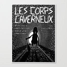 Les corps caverneux (Corpora cavernosa) Canvas Print