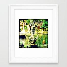 Balinese Goddess Framed Art Print