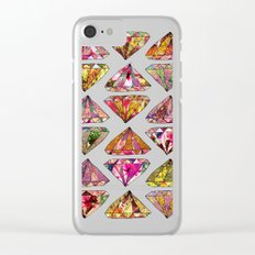 These Diamonds Are Forever Clear iPhone Case