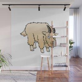 Mountain Goat Mascot Wall Mural