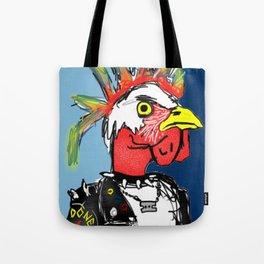 pollo punk Tote Bag