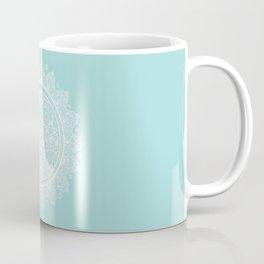 Mandala Moon Sea Kiss Coffee Mug