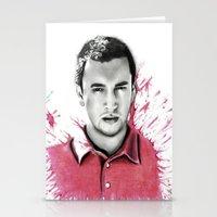 tyler spangler Stationery Cards featuring Tyler Joseph by Alycia Plank