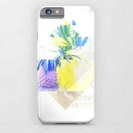 GLITCH NATURE #49: Happy Pineapple iPhone Case