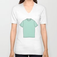 inception V-neck T-shirts featuring Getting Inception Up In Here! by Zaqory