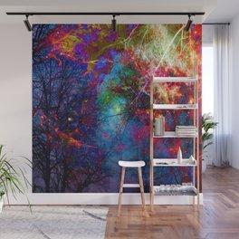 Colorful fiber  Wall Mural