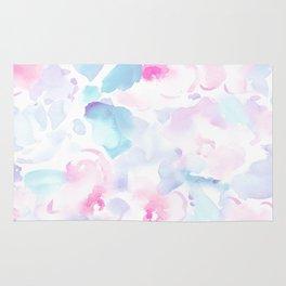 beautiful pastel florals Rug