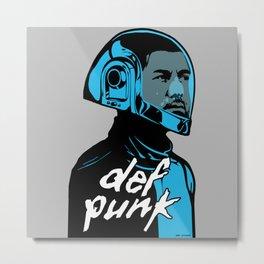 def punk Metal Print