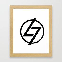 L7 Logo Framed Art Print