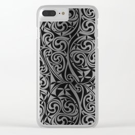 Celtic Warlord titanium Clear iPhone Case