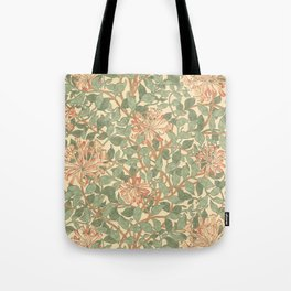 William Morris Honeysuckle Tote Bag