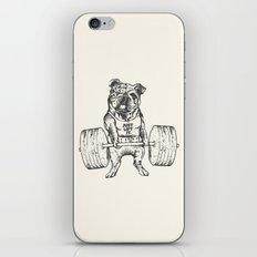 English Bulldog Lift iPhone & iPod Skin
