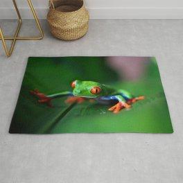 Little Tree Frog (Color) Rug