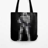 trooper Tote Bags featuring Trooper by Triplea