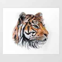 TIGER // STAY WILD Art Print