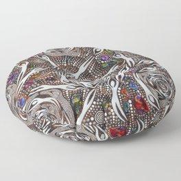 Her_Opal_Spirits#2–GeoffSellman Floor Pillow