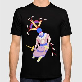 Arizona Apache Devil Dancer - Native American T-shirt