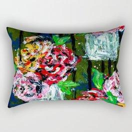 Buckets of Flowers Rectangular Pillow