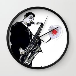 sonny rollins Wall Clock