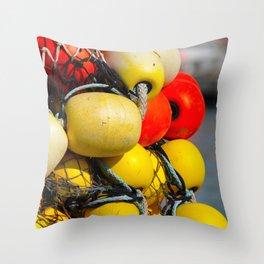 Fishing Nets - 3 Throw Pillow