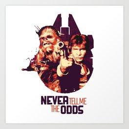 Han Solo & Chewbacca Kunstdrucke