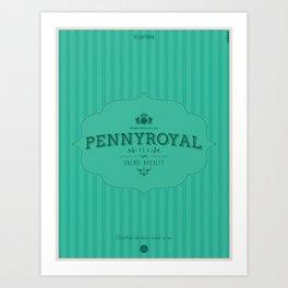 Pennyroyal Tea Art Print